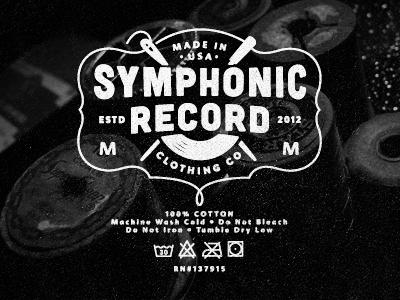 Symphonic record