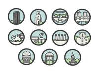 Bike Map Icons