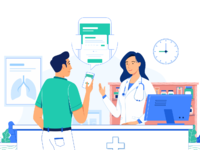 Health illustration by hamam zai dribbble attachment