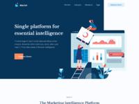 Attachment dribbble marketing intelligence platform by hamam zai