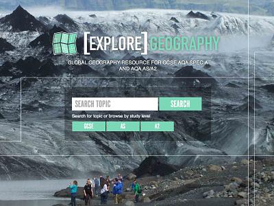 Explore geography website mountains wordpress