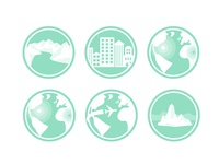 geography related icons