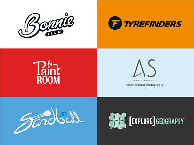 Logo selection logo identity branding