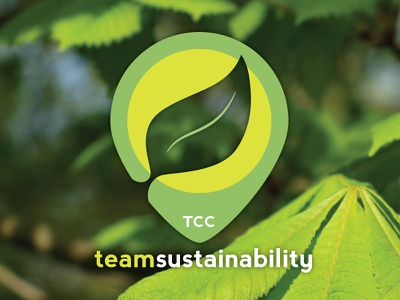 Team Sustainability logo green sustainability leaf vector