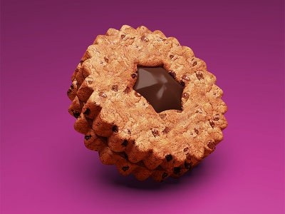 Cookie chocolate cookie