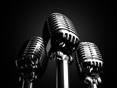Trio lightspot singer trio song microphone