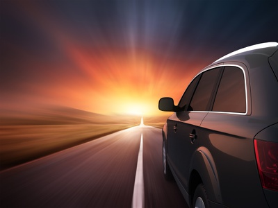 Pure Speed photo speed sunset car