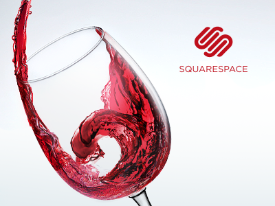 Cheers! squarespace6 wine celebration