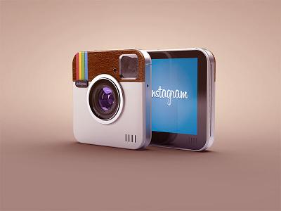 Instacam digital cam instagram photocam illlustration