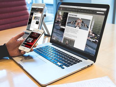 Responsive Website Design queenwood