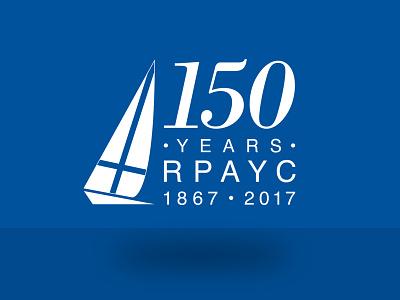 150 YEARS RPAYC design logo
