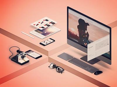 The Hippie Cartel website design design website design website