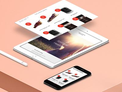 The Hippie Cartel website design website
