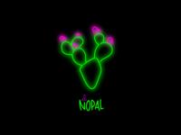Neon Cactus Sign