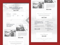 Auto Logistics Wireframes