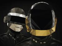 Daft Punk Polygon Pixel
