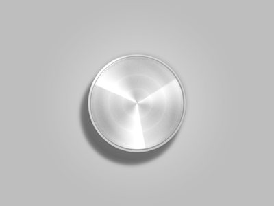 One Layer Style - Stereo Knob psd free layer style photoshop stereo knob grey