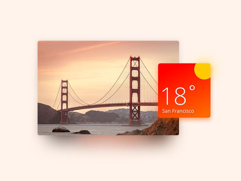 Practice: Weather widget