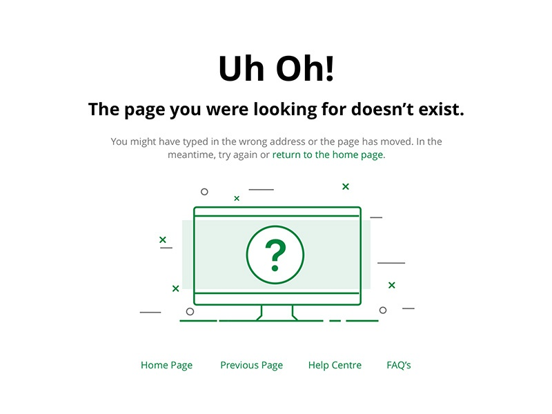 404 Page error-page tabcorp error-state 404-page 404