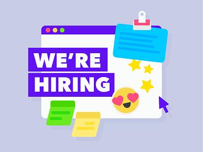 We're looking for designers in Melbourne! flat australia melbourne design job hiring