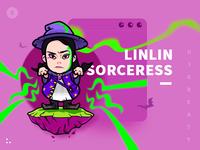 "illustrations-""Grumpy Linlin"""