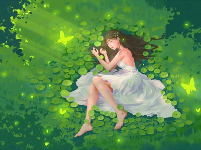 White Spirit illustration