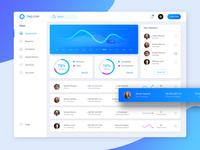 TNQ System Dashboard UI Redesign