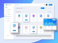 TNQ Dashboard Application Page Redesign