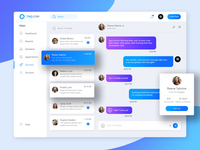 TNQ Dashboard Chatting Page Redesign