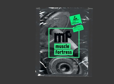 Fitness Package Poster - Muscle Fortress