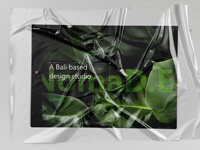 TROPICAL PARADISE-LANDING PAGE CONCEPT adobe xd uidesigner uiinspiration ui  ux adobexduikit uidesign uiux landing page design adobexd adobe landing page flat branding design ui design landing ui typography lstore