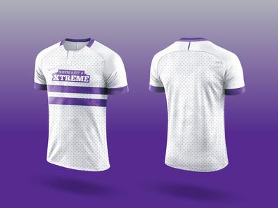 GYM & FIT JERSEY gym logo purple logodesign jersey design vector flat logo geometry shape minimal design branding illustration typography gym
