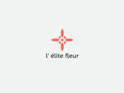 Flower logo logotype type typo flower logo logos color logodesign flat logo branding illustration geometry shape minimal design typography flower logo design