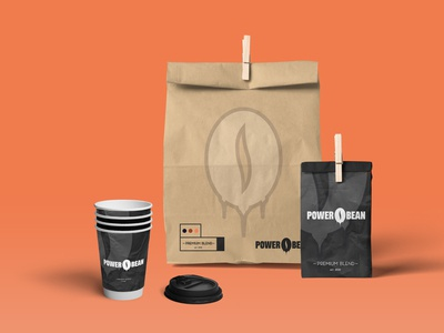 POWER BEAN - COFFEE BAGS & PAPER CUPS