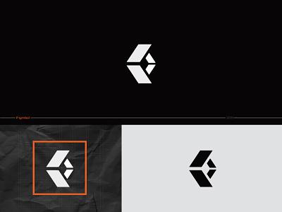 SYMBOLS & MARKS COLLECTION-P SYMBOL logosketch brandmarks marks colour logodesign black flat geometry minimal design typedesign typography type abstract shape collection symbol logosai logos logo