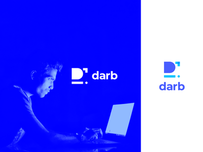 Darb logo design ui branding logo vector trend