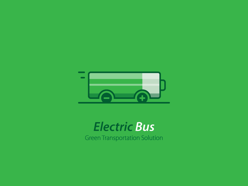 electricbus green battery logo