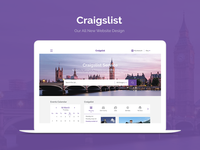 Craigslist website redesign