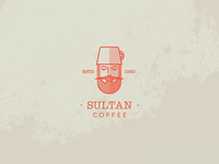 Sultan coffee logo