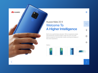HUAWEI MATE20 X product page