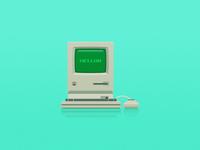 Apple macintosh old model