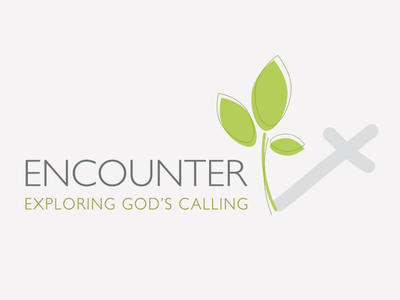 Encounter Logo logo design faith christianity religion logo