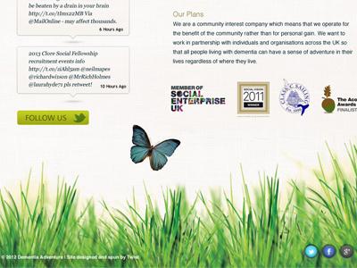 Website Grass Footer
