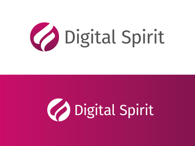 Digital Spirit logo designer digital spirit design agency logo