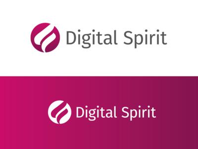 Digital Spirit logo designer digital spirit design agency logo