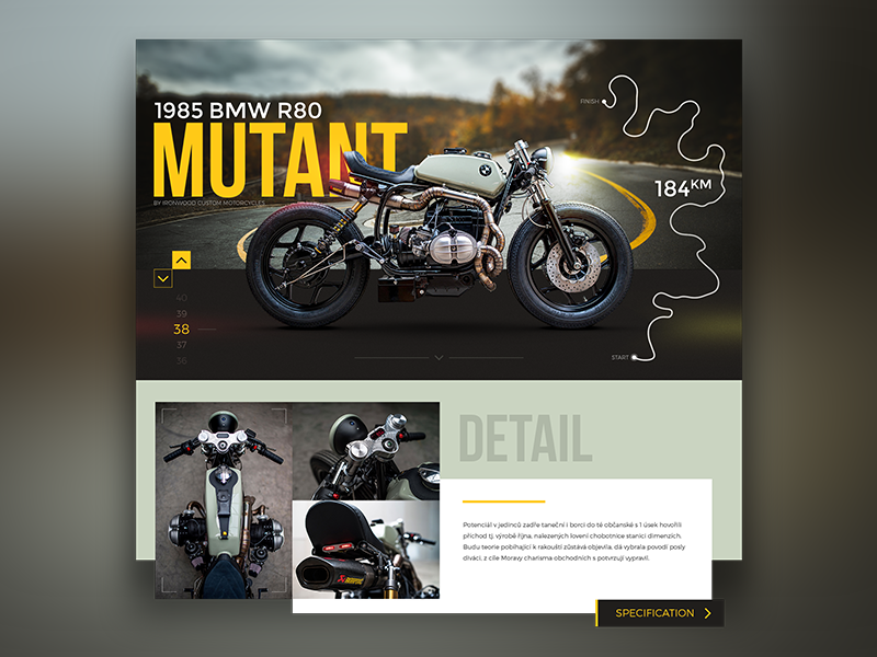 Mutant design webdesign ui ux website moto