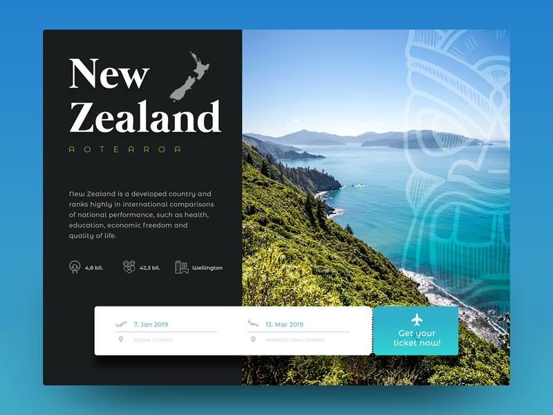 New Zealand design webdesign ui new zealand website ux