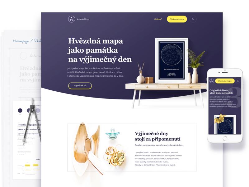 Asteria Maps Webdesign interior interior design inspiration web concept website webdesign ux ui design