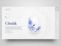 Vejcovod web concept