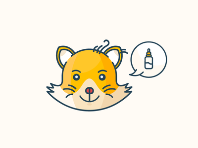 Cat want milk! milk sleepy outline cat clean illustration free filled download animal ai